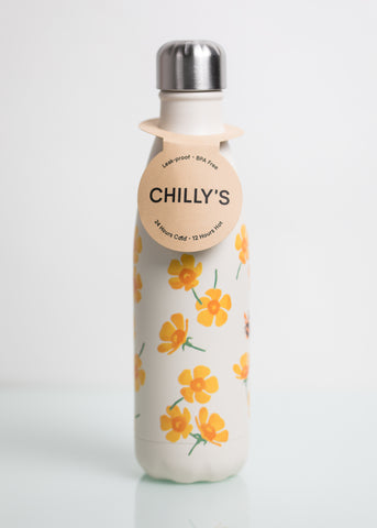 500ml Chillys Bottles - Patterned