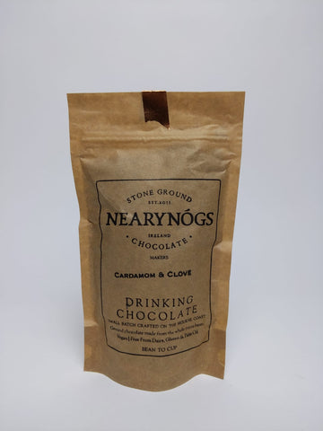 Cardamom & Clove Drinking Chocolate - NearyNogs - 180G Bag
