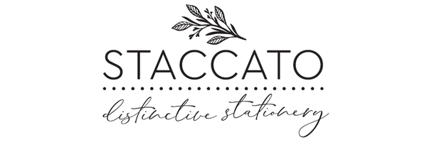 Staccato Stationery