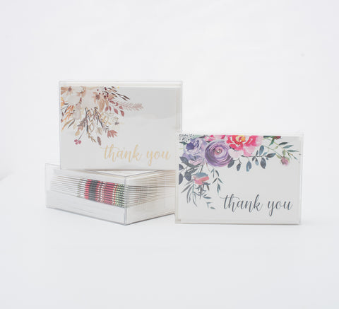 boxed notecards available for wholesale to brick and mortar boutiques in the United States.