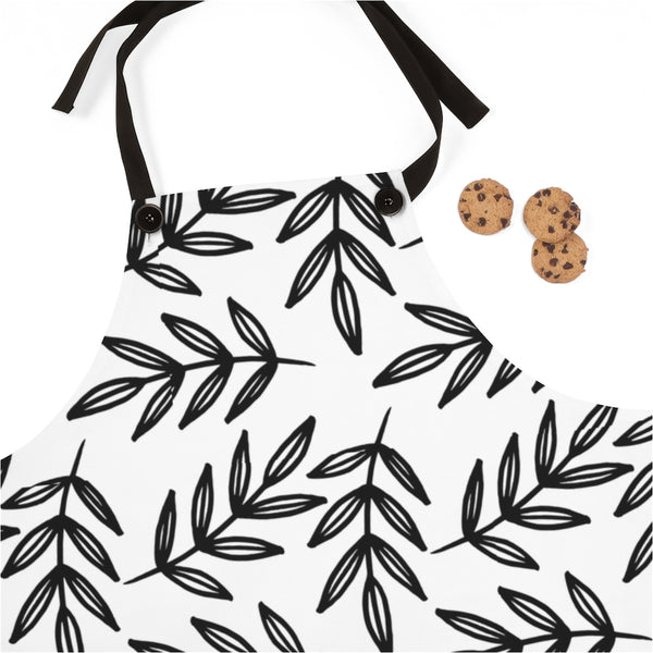 Sketched Leaves Apron