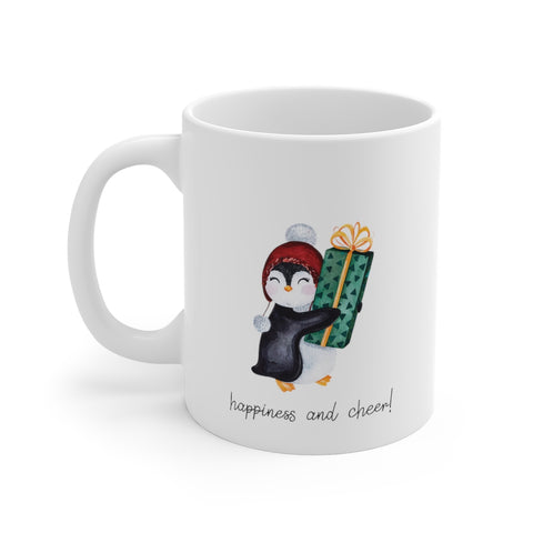 Happiness and Cheer 11oz Mug