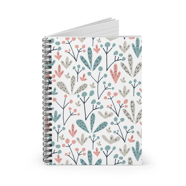 Abstract Art Spiral Notebook - Ruled Line