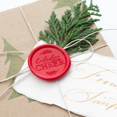 Holiday Cheer Wax Seals - 25 Pack
