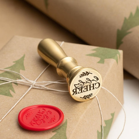 Holiday Cheer Wax Stamper