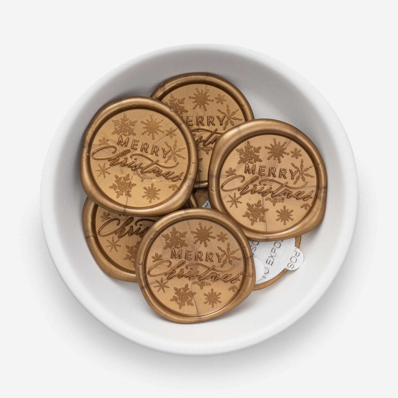 Merry Christmas Wax Seals - 25 Pack