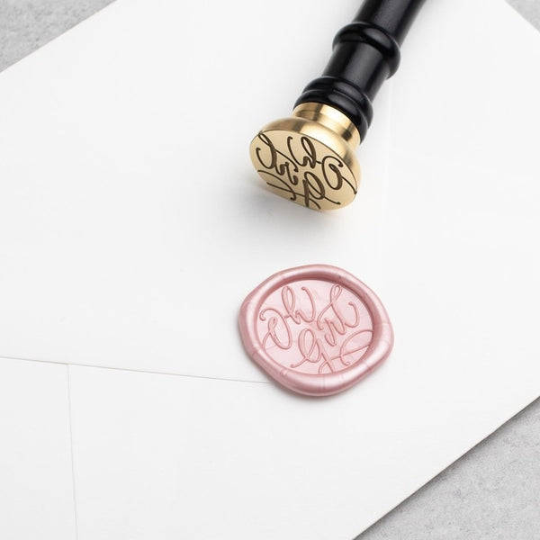 Oh Girl! Wax Stamper