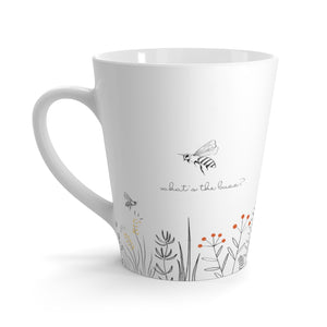 What's the Buzz Latte Mug