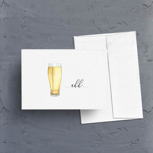 Cocktail Celebrations Note Cards - Set of 4