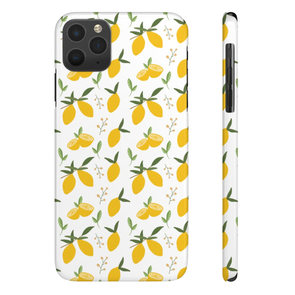 When Life Hands You Lemons Case Mate Slim Phone Case