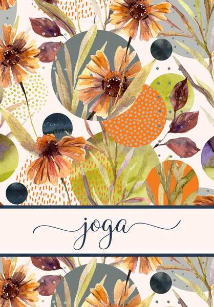 Personalized Note Cards (20) Bold Fall Colors