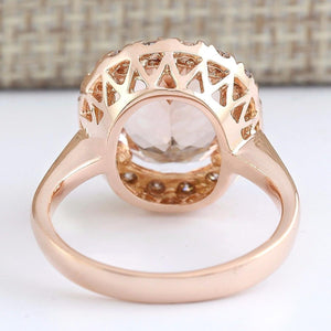 Oval Cut Cubic Zirconia Gold Ring - Available in Multiple Sizes