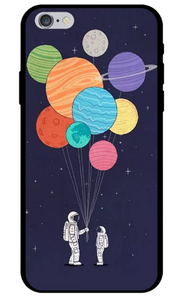 Selection of Space Themed TPU iPhone Covers
