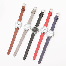 Load image into Gallery viewer, Retro PU Leather Strap Mini Quartz Watch - Available in Multiple Colours