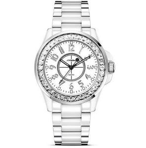 SINOBI Stainless Steel Crystal Quartz Watch - Available in Multiple Colours