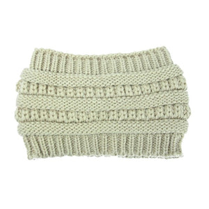 Knitted Acrylic Headband - Available in Multiple Colours