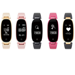Sports Silicone Strap Smart Watch - Available in Multiple Colours