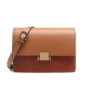 Luxury Split Leather Cross-Body Bag - Available in Multiple Colours