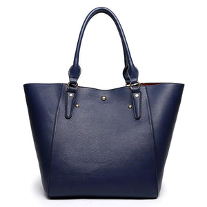 Retro PU Leather Handbag - Available in Multiple Colours