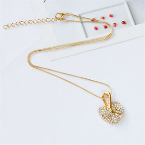 Gold Heart Shaped Set of 2
