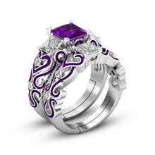 Load image into Gallery viewer, Shiny Adjustable Silver Ring - Available in Multiple Colours