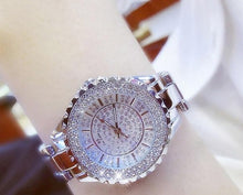 Load image into Gallery viewer, Sparkling Stainless Steel Crystal Quartz Watch - Available in Multiple Colours