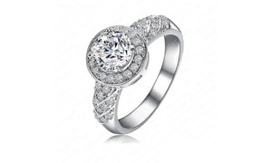 Cubic Zirconia Ring - Available in Multiple Sizes and Colours