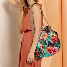 Load image into Gallery viewer, Floral Patterned Oxford Cloth Backpack - Available in Multiple Colours
