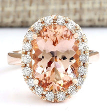 Load image into Gallery viewer, Oval Cut Cubic Zirconia Gold Ring - Available in Multiple Sizes