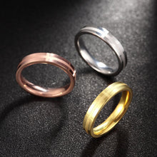 Load image into Gallery viewer, Tri-Coloured Set of 3 Rings - Available in Multiple Sizes