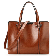 Load image into Gallery viewer, Oil Wax Effect PU Leather Handbag - Available in Multiple Colours