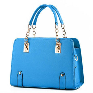 Luxury PU Leather Handbag - Available in Multiple Colours