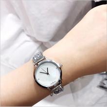 Load image into Gallery viewer, Crystal Stainless Steel Quartz Watch - Available in Multiple Colours