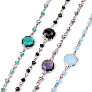 Elegant Beaded Chokers - Available in Multiple Colours