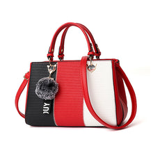 Load image into Gallery viewer, Tricoloured PU Leather Handbag - Available in Multiply Colours