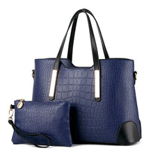 Load image into Gallery viewer, Crocodile Patterned PU Leather Set of 2 - Available in Multiple Colours