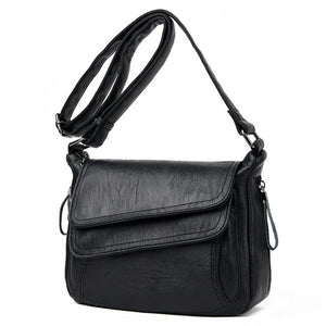 Retro Genuine Leather Shoulder Bag - Available in Multiple Colours