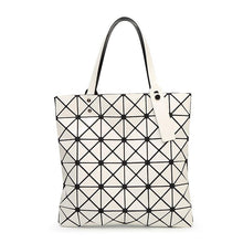 Load image into Gallery viewer, Geometric Patterned PU Leather Handbag - Available in Multiple Colours