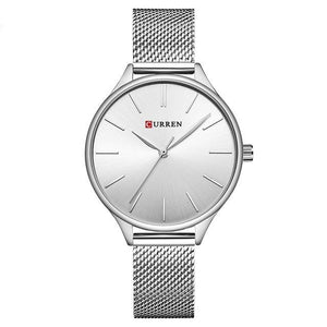 CURREN Luxury Stainless Steel Quartz Watch - Available in Multiple Colours
