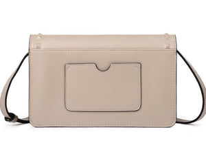 Elegant Split Leather Cross-Body Bag - Available in Multiple Colours