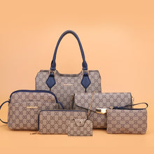 Load image into Gallery viewer, Retro Patterned PU Leather Set of 6 - Available in Multiple Colours