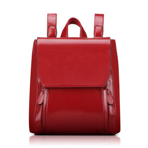 Retro PU Leather Backpack - Available in Multiple Colours