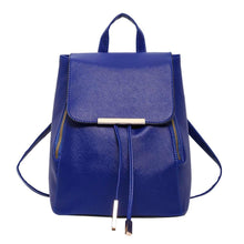 Load image into Gallery viewer, Elegant PU Leather Backpack