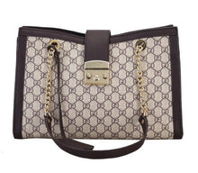 Load image into Gallery viewer, Patterned PU Leather Chain Shoulder Bag - Available in Multiple Colours