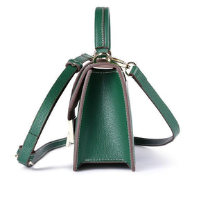 Split Leather Cross-Body Bag - Available in Multiple Colours and Different Sizes