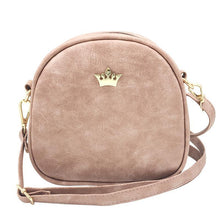 Load image into Gallery viewer, Mini Crown Patch PU Leather Cross-Body Bag - Available in Multiple Colours