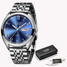 Load image into Gallery viewer, LIGE Business Quartz Watch - Available in Multiple Colours