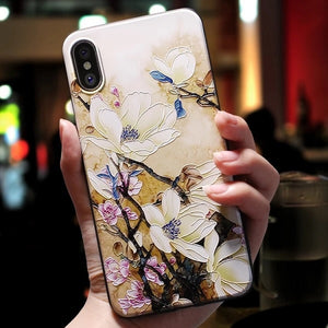 Patterned Soft TPU iPhone Case - Available in Multiple Styles