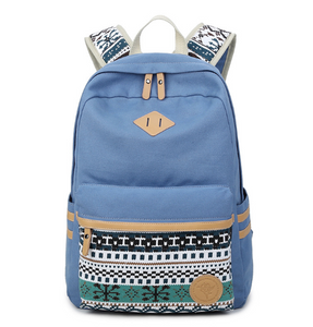 Travel/School Canvas Backpack