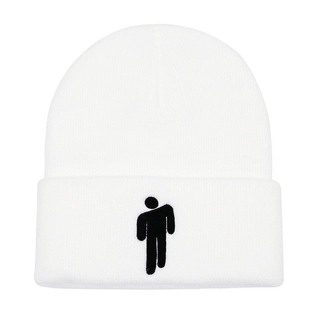 Billie Eilish Style Cotton&Acrylic Beanie Hat - Available in Multiple Colours